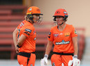 Power pair: Sophie Devine and Beth Mooney began their Perth Scorchers partnership, Brisbane Heat v Perth Scorchers, WBBL, North Sydney Oval, October 25, 2020