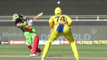 Virat Kohli slams a six