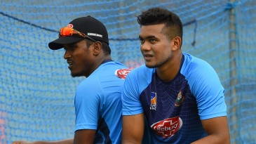 There was noticeable extra zip in the bowling of Taskin Ahmed and Rubel Hossain