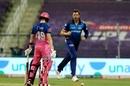 James Pattinson exults after dismissing Steven Smith, Rajasthan Royals vs Mumbai Indians, IPL 2020, Abu Dhabi, October 25, 2020