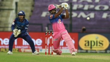 Sanju Samson has been giving the ball a good whack