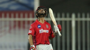 Mandeep Singh is emotional as he brings up a fifty