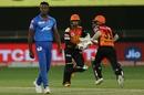 Kagiso Rabada had one of his poorer days with the ball, Sunrisers Hyderabad vs Delhi Capitals, IPL 2020, Dubai, October 27, 2020