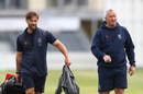 Warwickshire's head coach Jim Troughton and sport director Paul Farbrace, Gloucestershire v Warwickshire, Bob Willis Trophy, Bristol, August 11, 2020