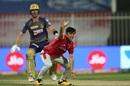Ravi Bishnoi appeals for lbw, Kolkata Knight Riders vs Kings XI Punjab, Sharjah, IPL 2020, October 26, 2020