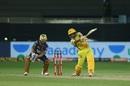 Ambati Rayudu goes inside out, Chennai Super Kings vs Kolkata Knight Riders, IPL 2020, Dubai, October 29, 2020