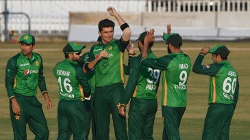 Shaheen Afridi sent back the Zimbabwe openers by the fifth over