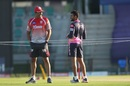 Two Karnataka legspinners on opposite sides of the IPL fence - Shreyas Gopal meets Anil Kumble, Kings XI Punjab vs Rajasthan Royals, IPL 2020, Abu Dhabi, October 30, 2020