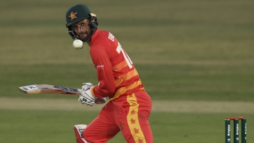 Craig Ervine played his part in helping Zimbabwe recover