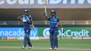 Suryakumar Yadav and Ishan Kishan wrapped up the chase in quick time