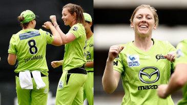 Sam Bates and Heather Knight bowled Sydney Thunder to victory