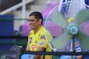 MS Dhoni relaxes ahead of the game, Chennai Super Kings vs Kings XI Punjab, IPL 2020, Abu Dhabi, November 1, 2020