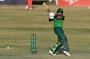 Imam-ul-Haq muscles one away to the leg side , Pakistan v Zimbabwe, 2nd ODI, Rawalpindi, November 1, 2020