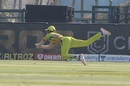 Ruturaj Gaikwad dives to take a brilliant catch at deep square, Chennai Super Kings vs Kings XI Punjab, IPL 2020, Abu Dhabi, November 1, 2020