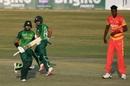 Imam-ul-Haq and Abid Ali run between the wickets, Pakistan v Zimbabwe, 2nd ODI, Rawalpindi, November 1, 2020
