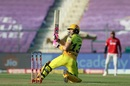 Faf du Plessis scoops one away for a boundary, Chennai Super Kings vs Kings XI Punjab, IPL 2020, Abu Dhabi, November 1, 2020