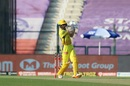 Ruturaj Gaikwad puts one away to the on side, Chennai Super Kings vs Kings XI Punjab, IPL 2020, Abu Dhabi, November 1, 2020