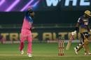 Rahul Tewatia roars, Kolkata Knight Riders vs Rajasthan Royals, IPL 2020, Dubai, November 1, 2020