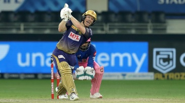 Eoin Morgan was at his explosive best