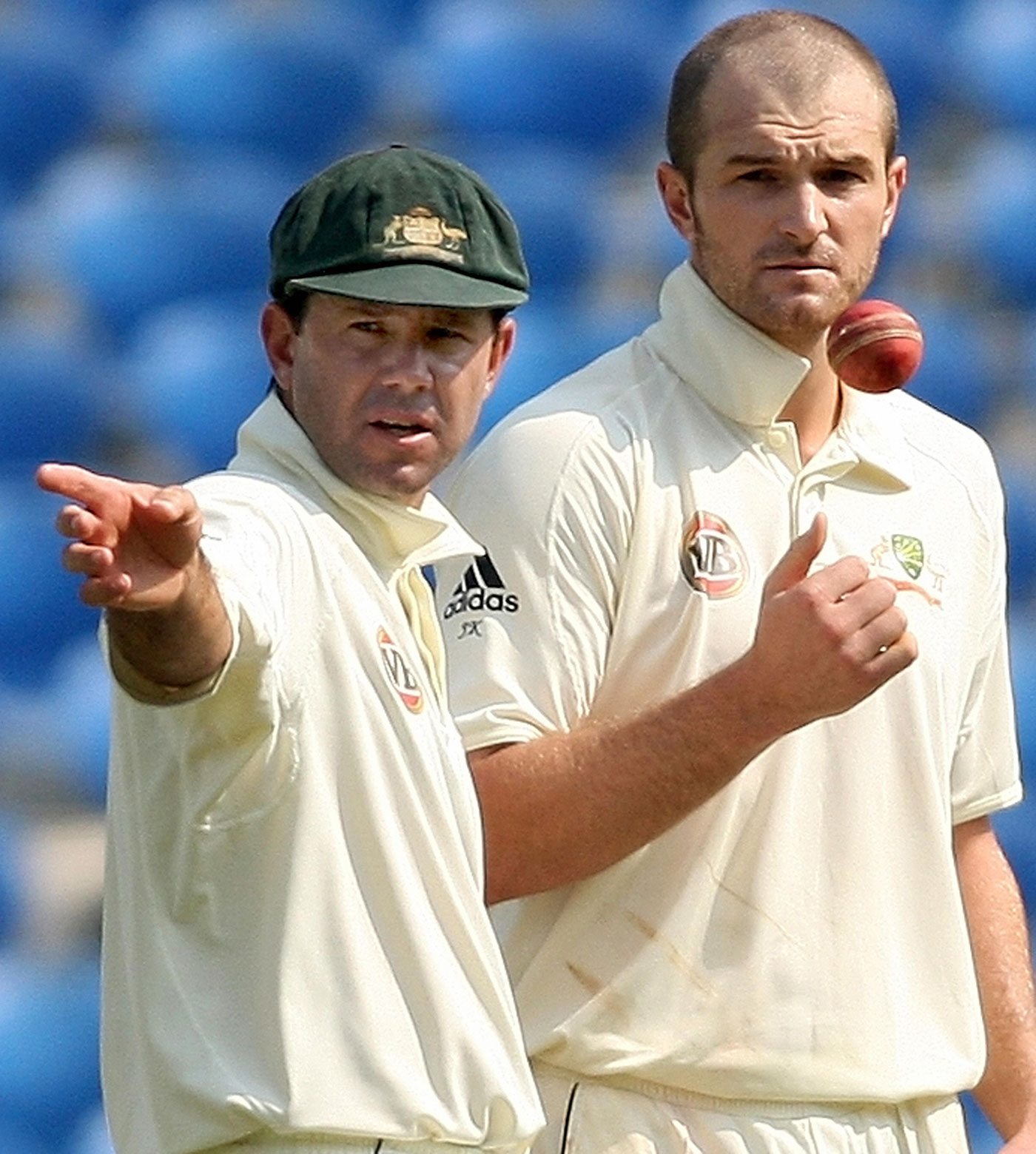 Krejza didn't have the best time under Ricky Ponting in international cricket.