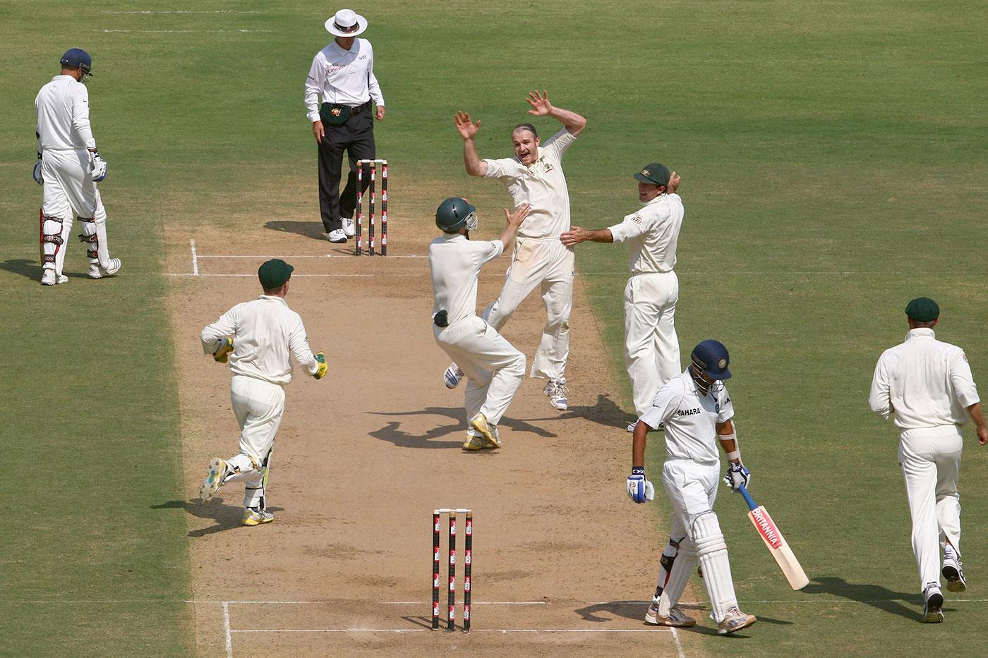 He'll always have Nagpur: Krejza celebrates his first Test wicket, Rahul Dravid