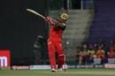 Shivam Dube goes big over mid-wicket, Delhi Capitals vs Royal Challengers Bangalore, IPL 2020, Abu Dhabi, November 2, 2020