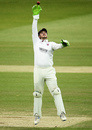 Steven Davies looks to catch the ball, Somerset vs Essex, Bob Willis Trophy final, 5th day, Lord's, September 27, 2020