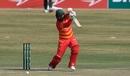 Brendan Taylor drives towards the covers, Pakistan vs Zimbabwe, 3rd ODI, Rawalpindi, November 3, 2020