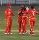 Donald Tiripano sent back Mohammad Rizwan and iftikhar Ahmed in quick succession