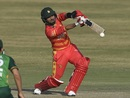 Sikandar Raza played a useful cameo at the close, Pakistan vs Zimbabwe, 3rd ODI, Rawalpindi, November 3, 2020