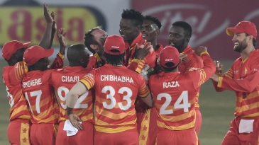 Standing tall - Blessing Muzarabani picked up five wickets in regulation time and two more in the Super Over
