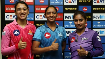 Smriti Mandhana, Harmanpreet Kaur and Mithali Raj pose ahead of Women's T20 Challenge 2020