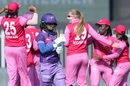 Sophie Ecclestone celebrates Mithali Raj's wicket, Trailblazers vs Velocity, Women's T20 Challenge, Sharjah, November 5, 2020