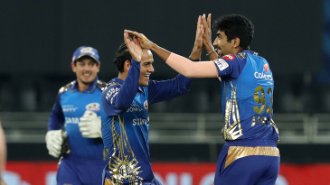 Mumbai Indians are all smiles amid Jasprit Bumrah's early carnage