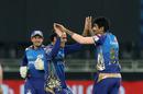 Mumbai Indians are all smiles amid Jasprit Bumrah's early carnage, Mumbai Indians vs Delhi Capitals, IPL 2020 Qualifier 1, Dubai, November 5, 2020