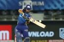 Ishan Kishan pounces on a short ball, Mumbai Indians vs Delhi Capitals, IPL 2020 Qualifier 1, Dubai, November 5, 2020