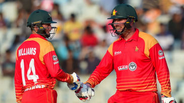 Brendan Taylor and Sean Williams were in good form during the ODIs