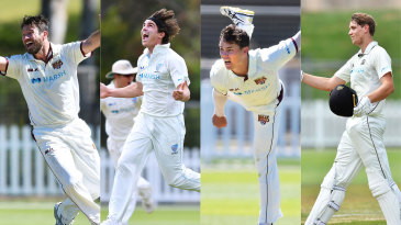 Michael Neser, Sean Abbott, Mitchell Swepson and Cameron Green have all impressed