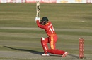Sean Williams drives down the ground, Pakistan vs Zimbabwe, 1st T20I, Rawalpindi, November 7, 2020