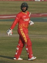 The in-form Brendan Taylor became the first to fall, Pakistan vs Zimbabwe, 2nd T20I, Rawalpindi, November 8, 2020