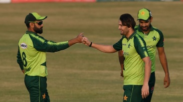 The second T20I against Zimbabwe may be the game Usman Qadir looks back on as the one that established him as an international cricketer