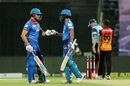 Marcus Stoinis and Shikhar Dhawan shared a fifty stand, Delhi Capitals vs Sunrisers Hyderabad, IPL 2020, 2nd Eliminator, Abu Dhabi, November 8, 2020