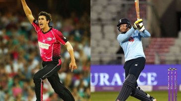Mitchell Starc last appeared in the BBL in 2014 and Jonny Bairstow will bring more power to the Stars