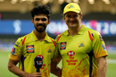 Ruturaj Gaikwad and Shane Watson at an interview, Chennai Super Kings vs Kolkata Knight Riders, IPL 2020, Dubai, October 29, 2020