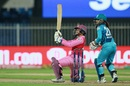 Richa Ghosh swings a boundary to square leg, Trailblazers vs Supernovas, Women's T20 Challenge 2020, Sharjah, November 9, 2020