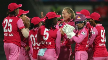 Sophie Ecclestone got the big wicket of Chamari Athapaththu