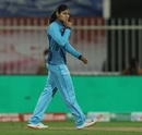 Radha Yadav stunned the Trailblazers into silence with a five-for, Trailblazers vs Supernovas, Women's T20 Challenge 2020 final, Sharjah, November 9, 2020