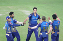 Nathan Coulter-Nile dented Delhi Capitals with the big wicket of a firing Rishabh Pant, IPL 2020, final, Dubai, November 10, 2020