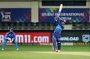 Quinton de Kock deposits one into the stands, Delhi Capitals vs Mumbai Indians, IPL 2020, final, Dubai, November 10, 2020