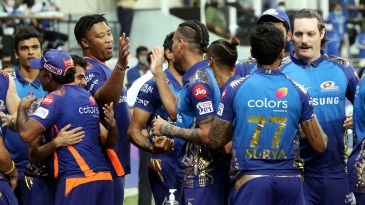 Mumbai Indians - five-time winners of the IPL now